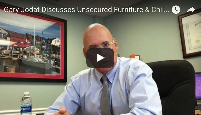 Unsecured Furniture Injury