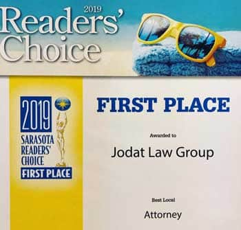 Best Local Attorney - 2019 Readers Choice